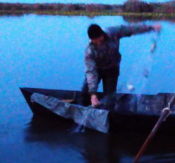 На озері Кугурлуй порушник завдав понад 11 тис. грн збитків, – Одеський рибпатруль